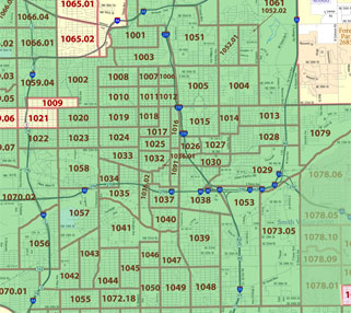 Oklahoma City's eligible census tracts