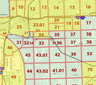 Tulsa's eligible census tracts